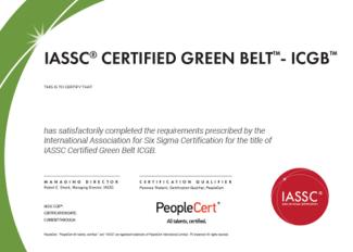 Sigma6 Green Belt