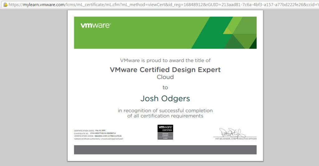 VMWARE Exam Proxy